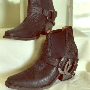 Free People Lady Luck Ankle Boots